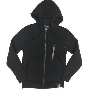 SWITCH Remarkable Mens Small Full Zip Hoodie Black